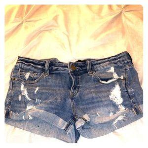 Express short shorts sz 6